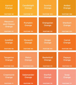 Different Shades Of Orange Paint Delectable With Pantone Orange Colors Image