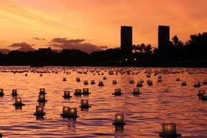 Hawaii lantern festival