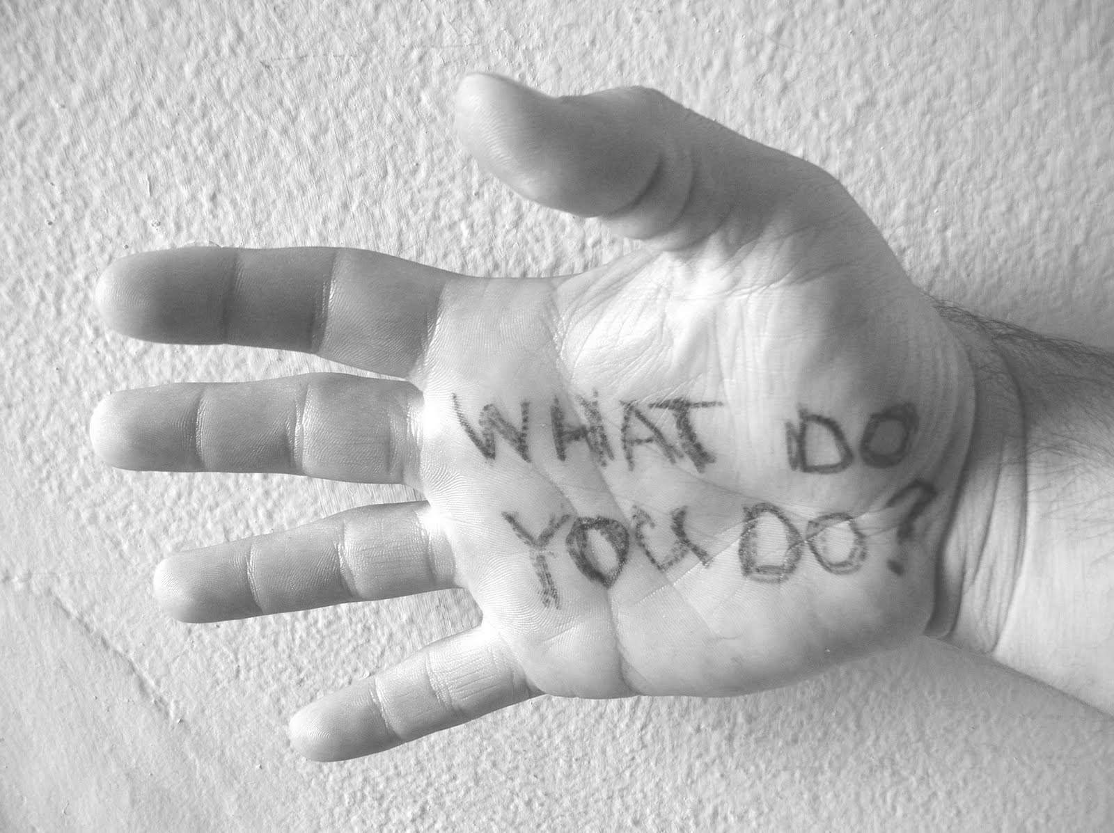 """What Do you DO? Or """"Lessons in Self Worth"""""""